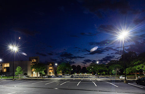 Install new LED Parking Lot Lights and SAVE money!
